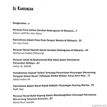 PATRIOTISME DAN NASIONALISME PERSURATAN MELAYU DALAM PERADABAN MALAYSIA