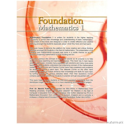 FOUNDATION MATHEMATICS 1